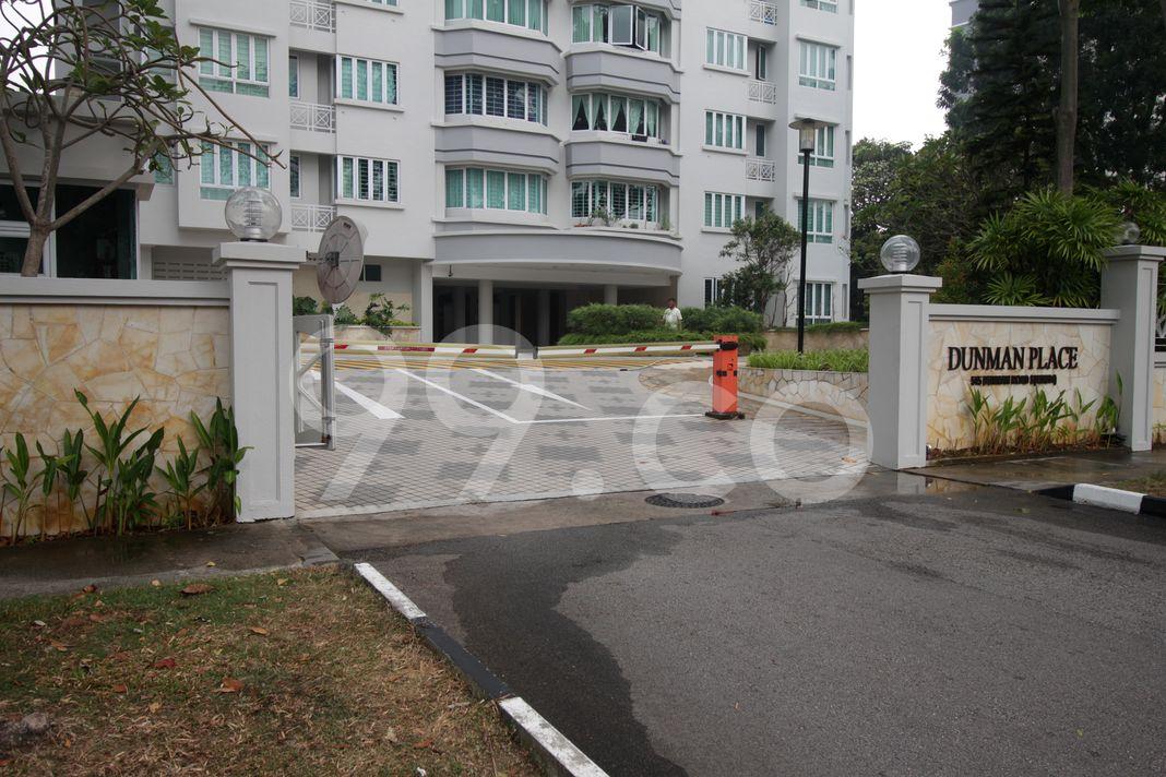 Dunman Place  Entrance