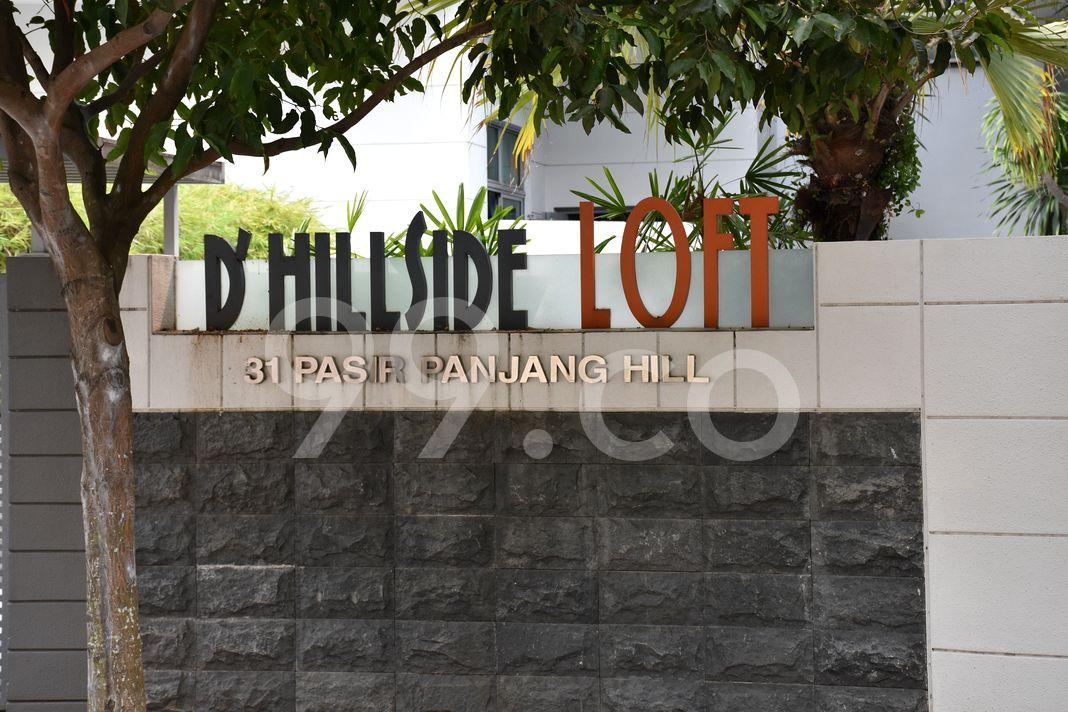 D'hillside Loft  Logo