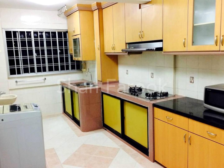 Bright Attractive Kitchen