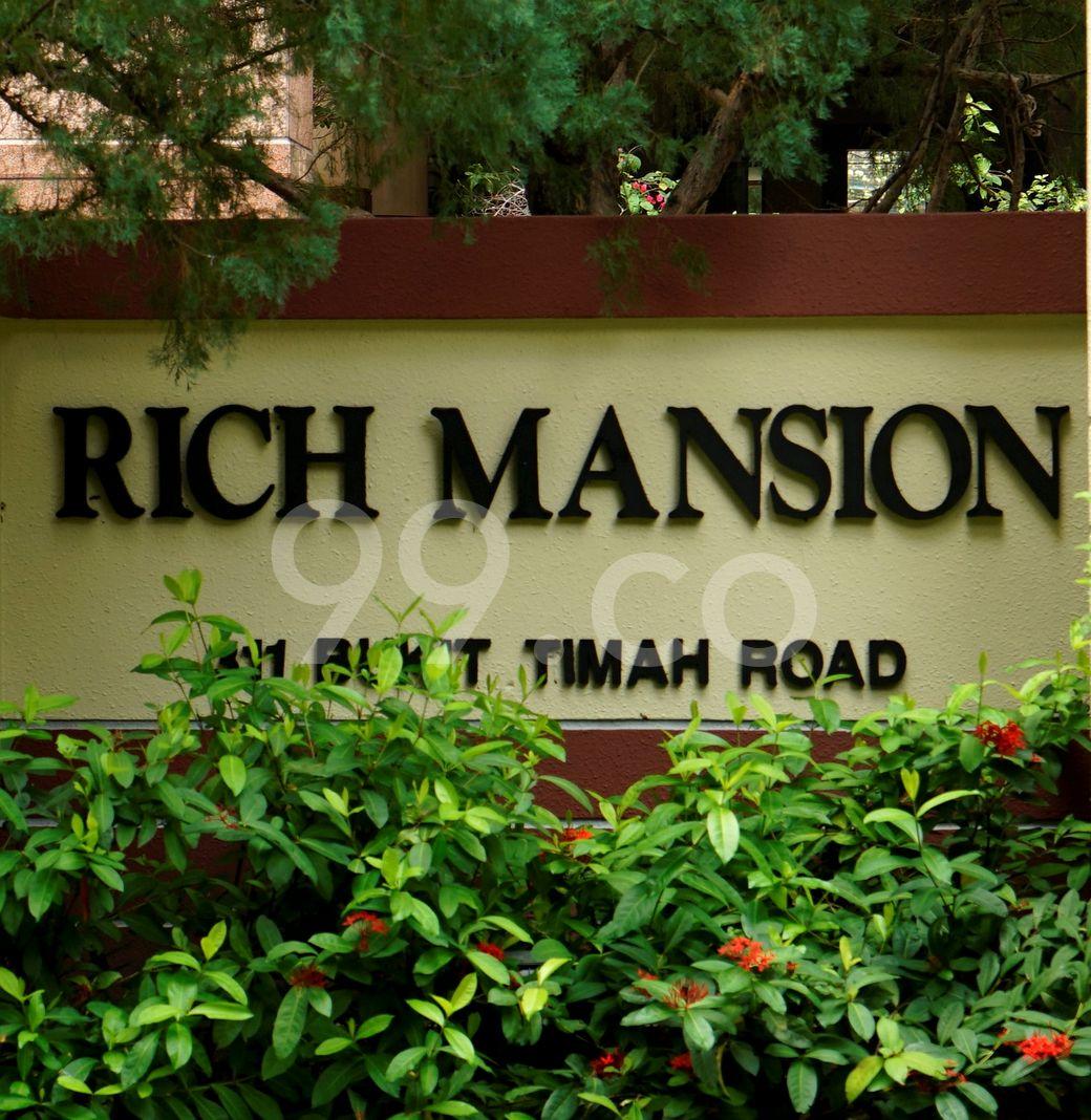 Rich Mansions  Logo