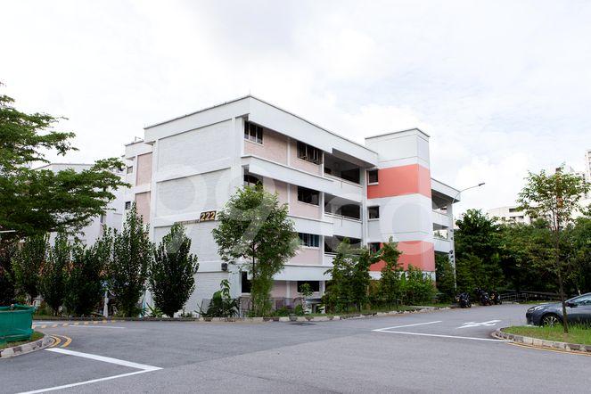 HDB-Jurong East Block 222 Jurong East
