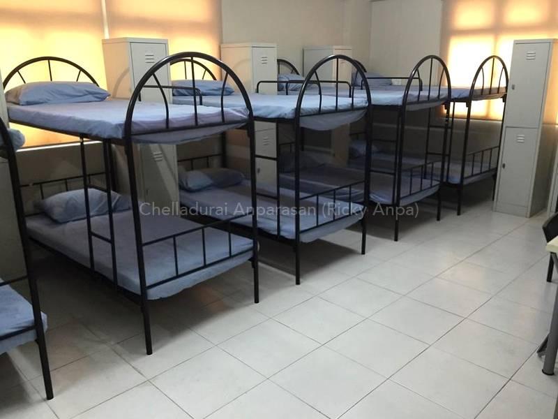 Sample Arrangement of Bedding inside the Room