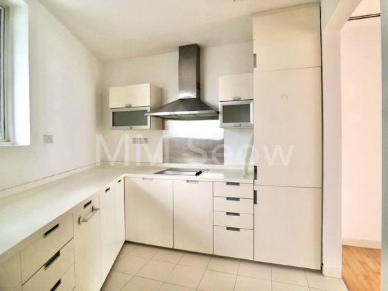 Kitchen with good storage cabinets