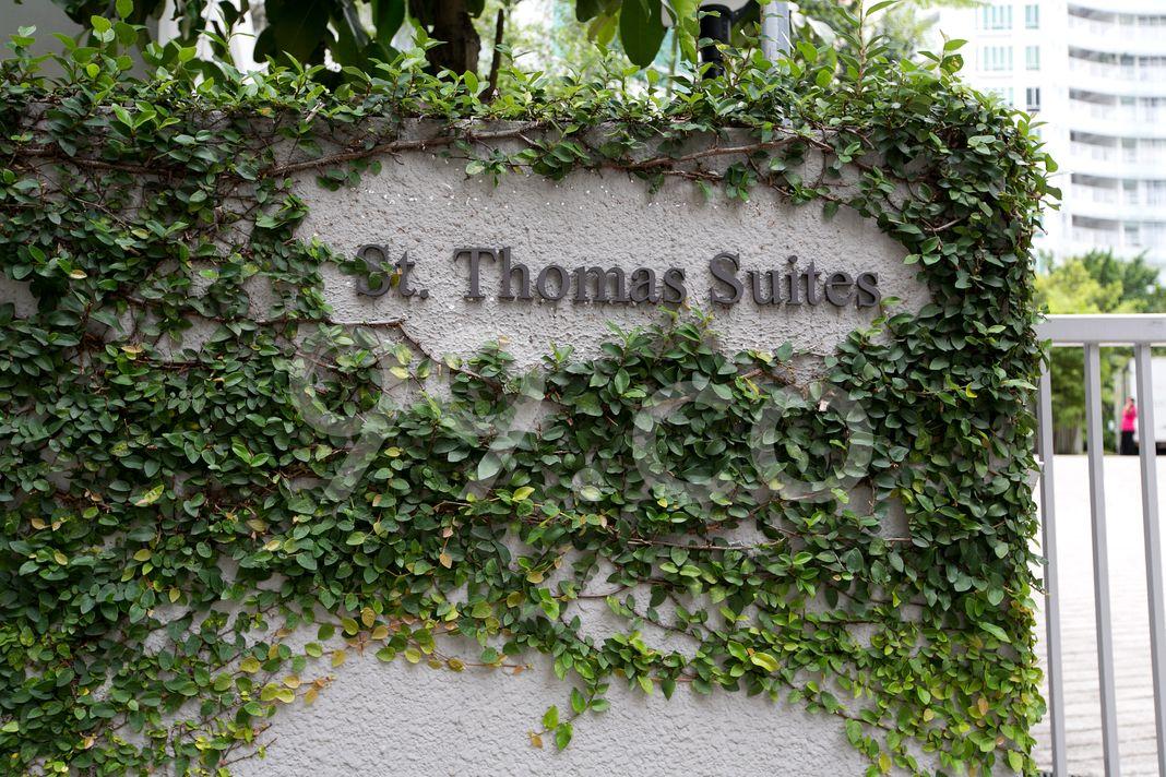 St Thomas Suites  Logo