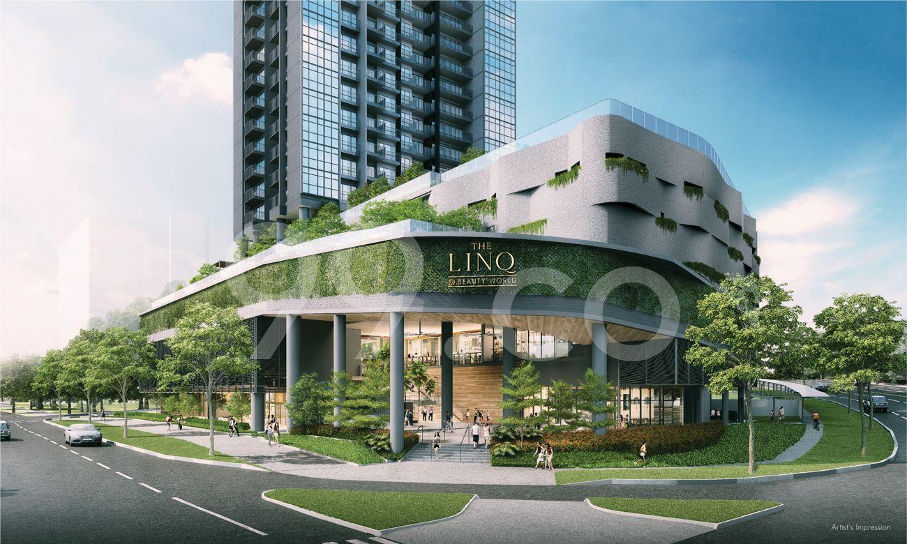 The Linq @ Beauty World Entrance
