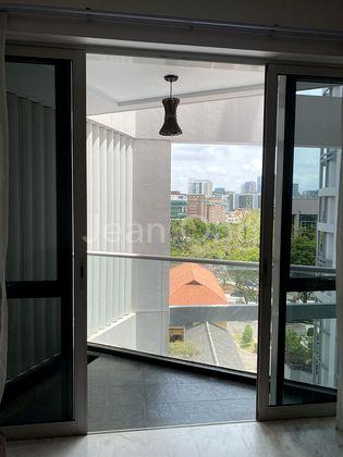 Balcony overlooking Plaza Singapura