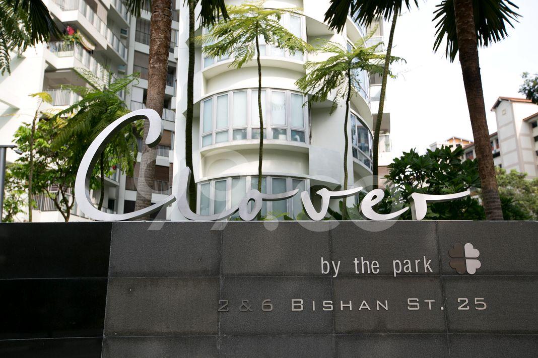 Clover By The Park  Logo