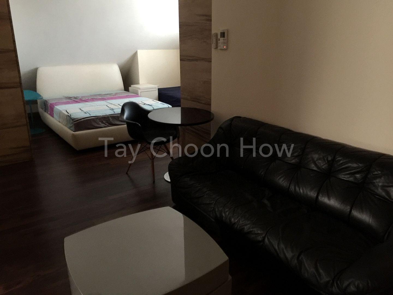 Upper floor with sofa