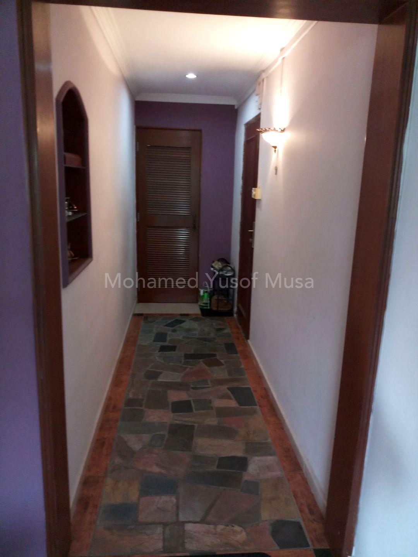 corridor between rooms