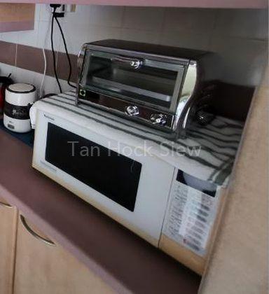 Microwave & Toaster