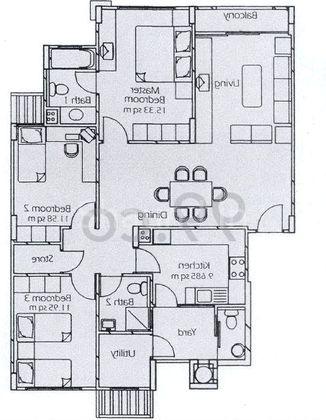 3 Bed Condo For Sale In Estella Gardens 1 292 Sqft 99 Co