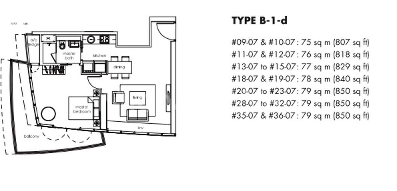 One Shenton #2x-07 Floor Plan
