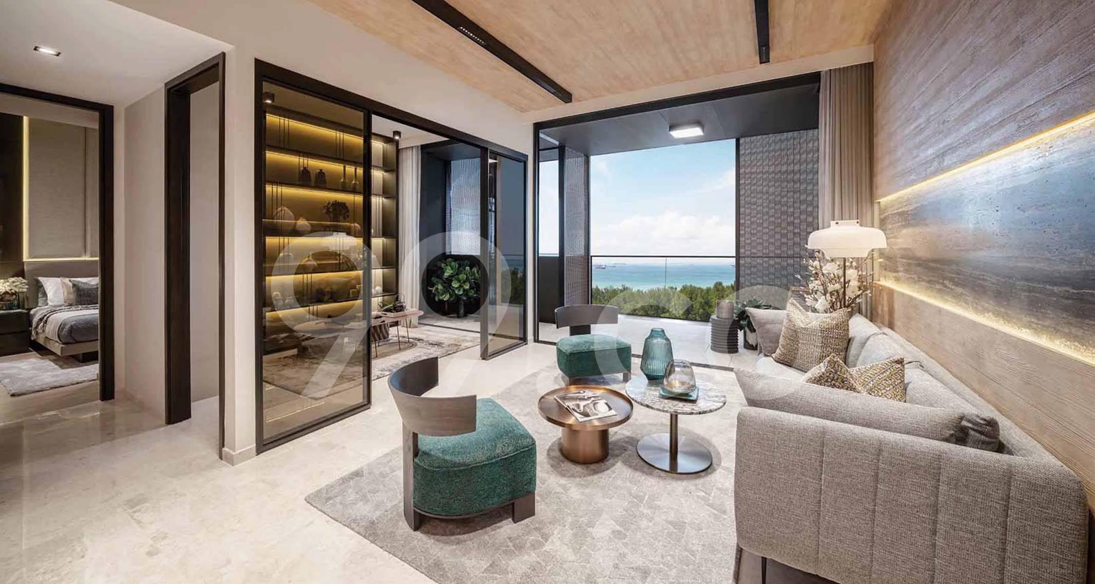 Meyer Mansion Living Room