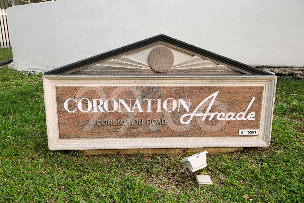 Coronation Arcade  Logo