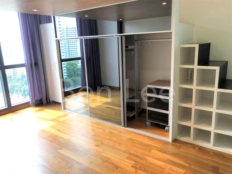 Master bedroom plenty wardrobe space