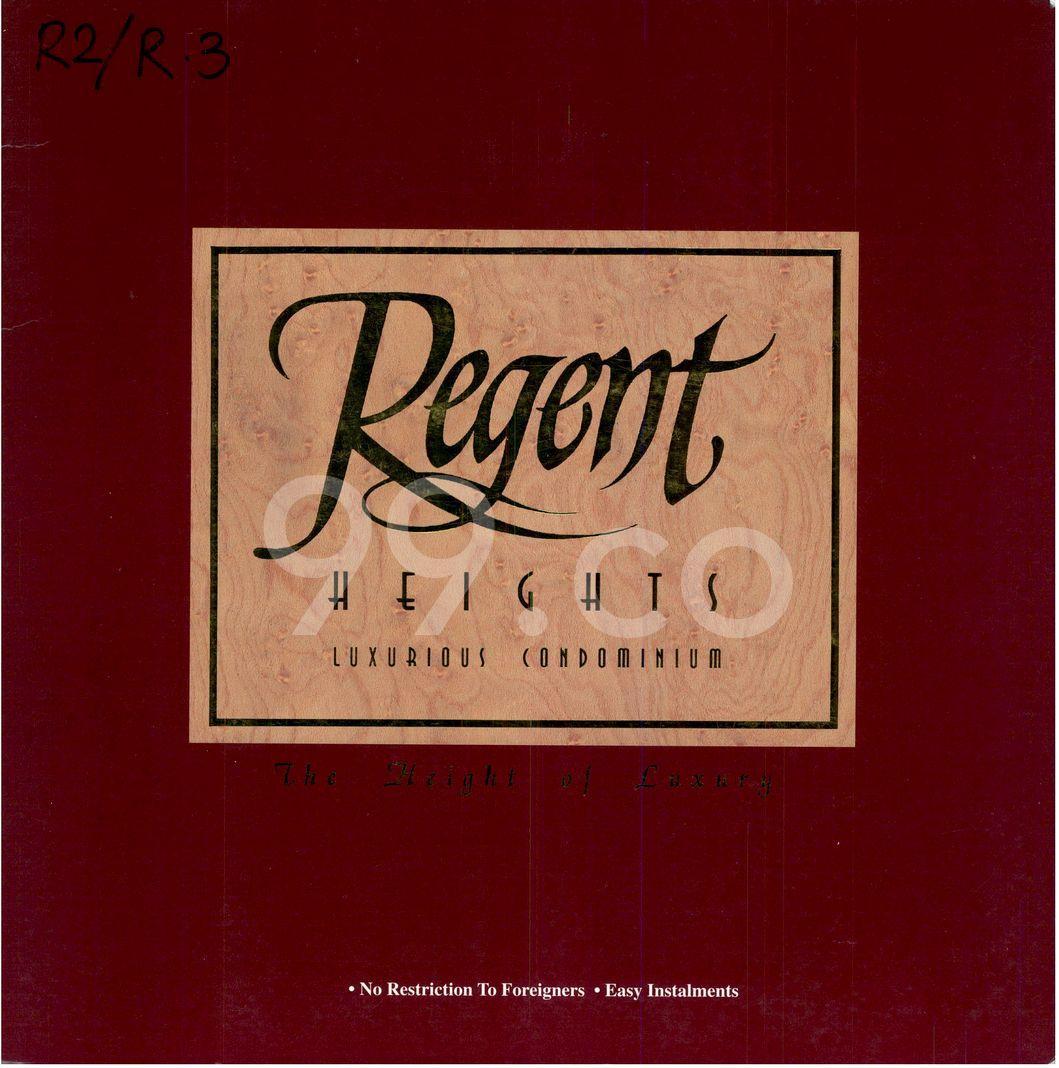 Regent Heights  Cover
