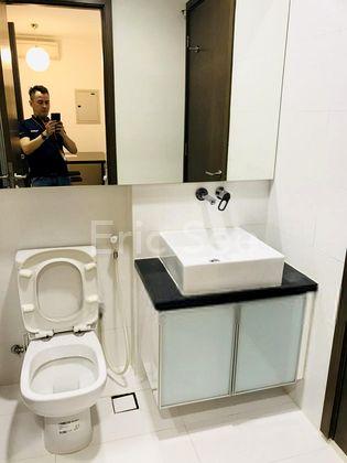 Bathroom with 2-way Access