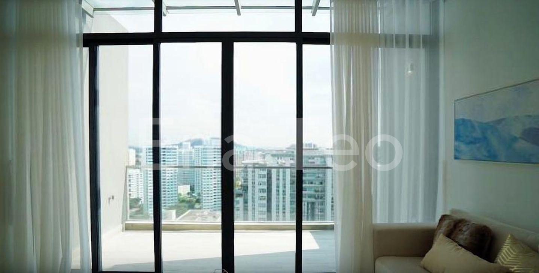 Balcony from living room