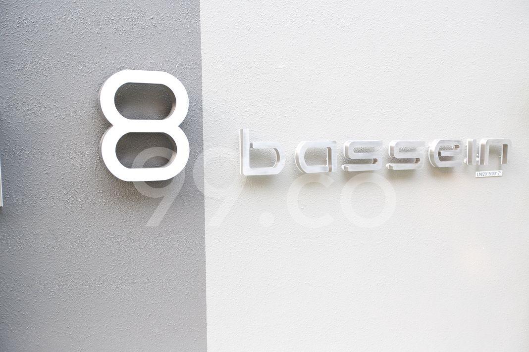 8 Bassein  Logo