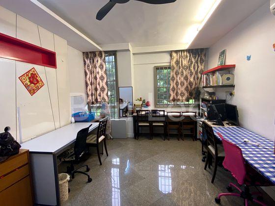 spacious living hall