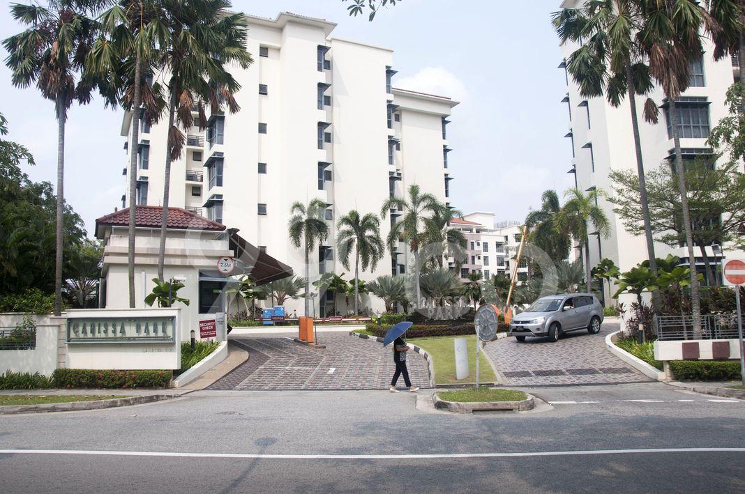 Carissa Park Condominium  Entrance