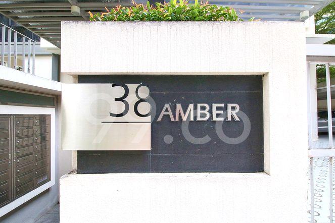 38 Amber 38 Amber - Logo