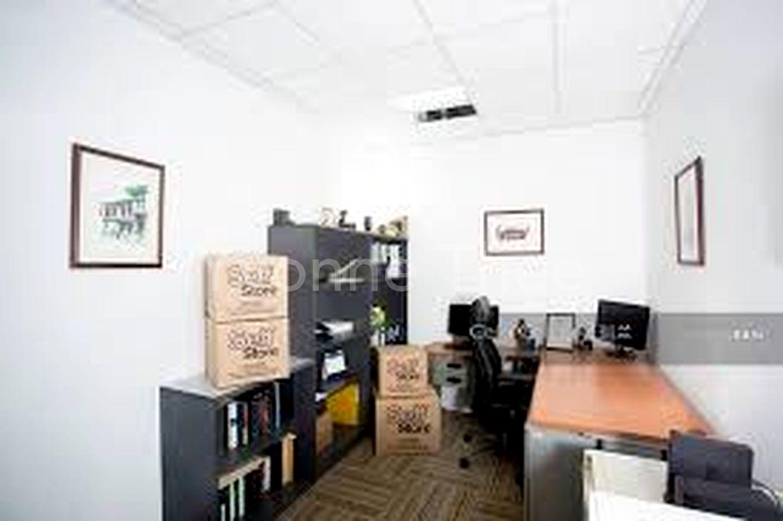 Office has lighting