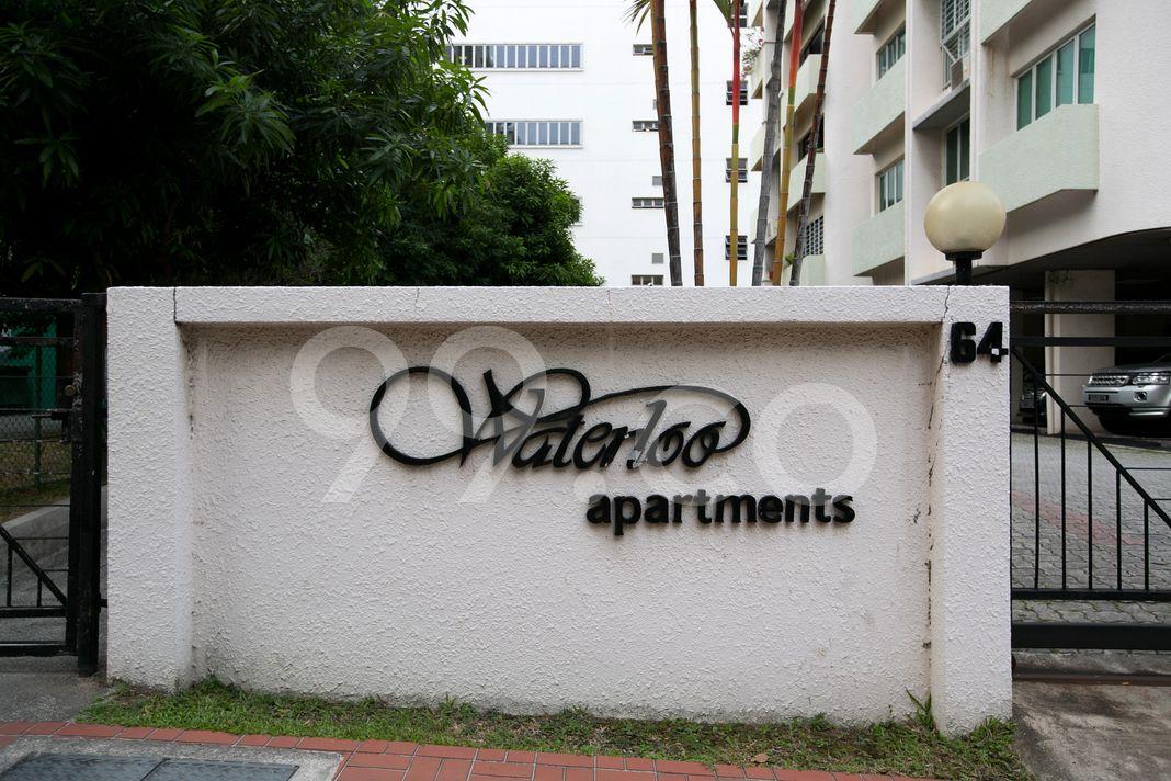Waterloo Apartments  Logo