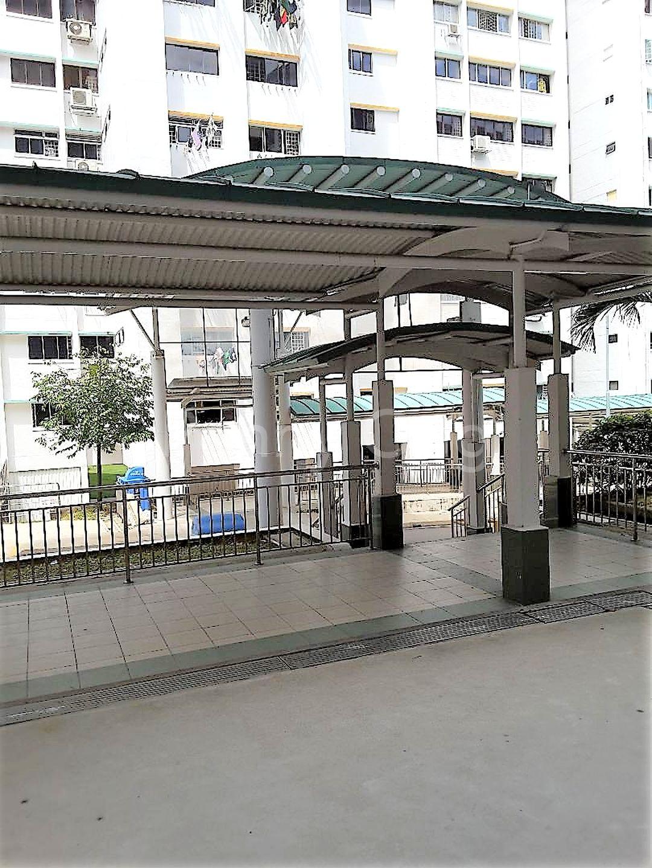 Sheltered Walkway