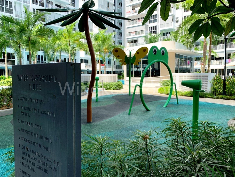 Children Water Spray Play Area