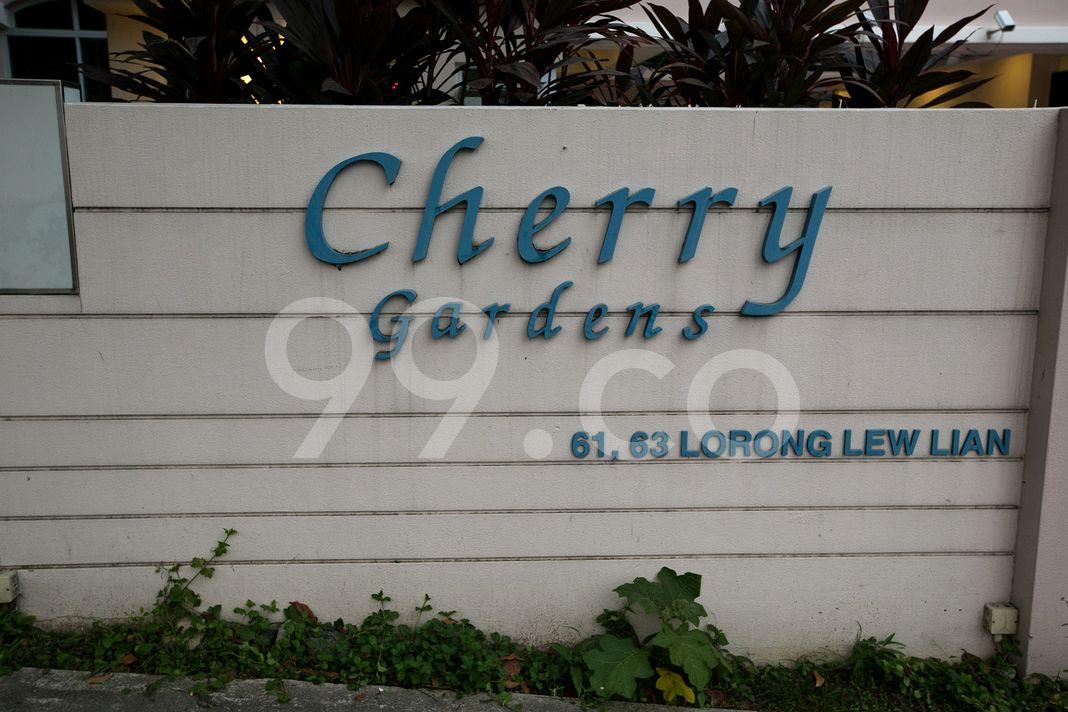 Cherry Gardens  Logo