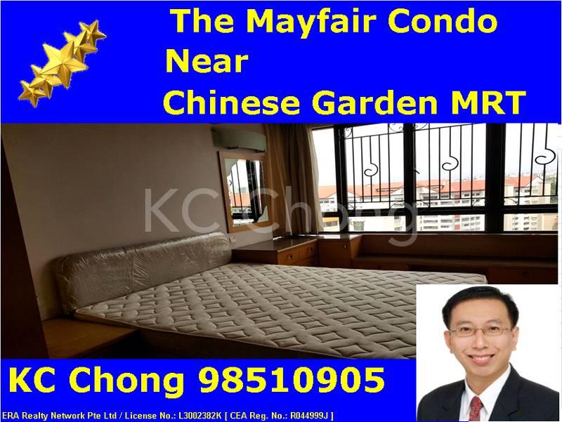 The Mayfair Condo Bedroom