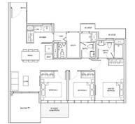 3 Bedrooms Type CP1