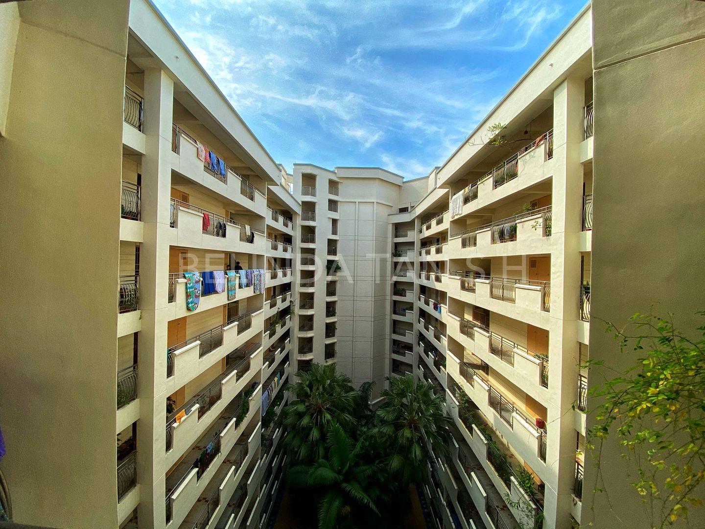Corridor with unit far apart