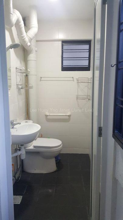 1 bedder - toilet