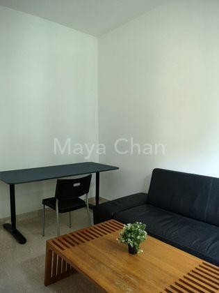 Living Room Study Corner