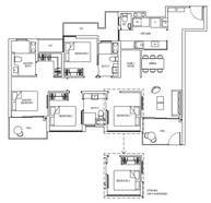 4 Bedrooms Type 4D1aG