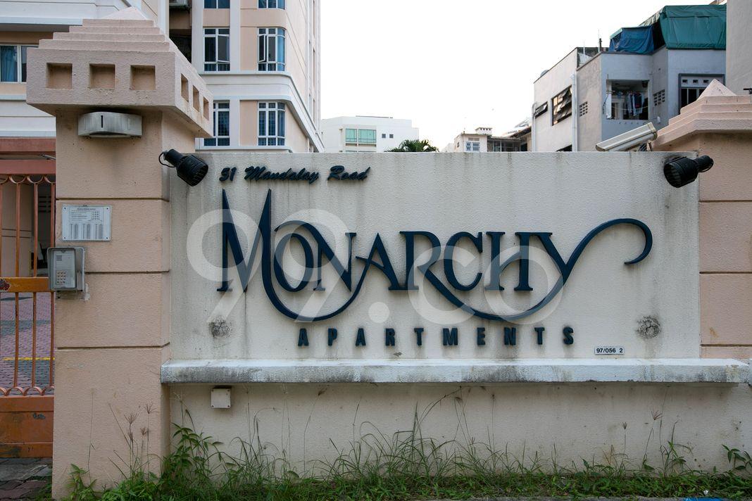 Monarchy Apartments  Logo