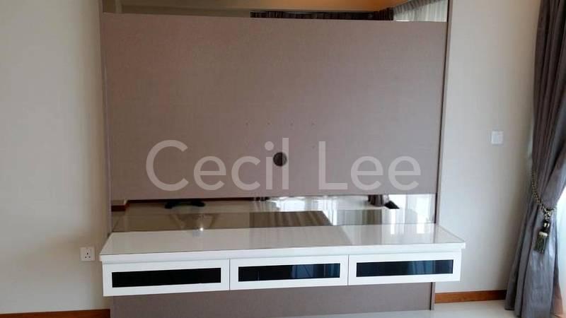 Customised TV console