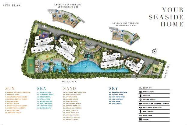 Site Plan.Facitlities