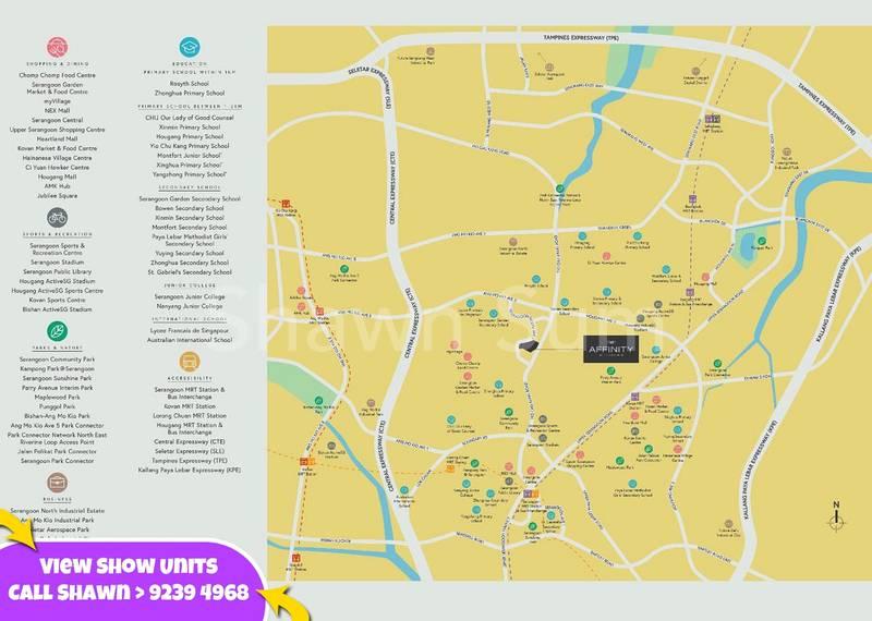 Affinity at Serangoon Location on Map