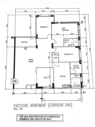 Old floorplan