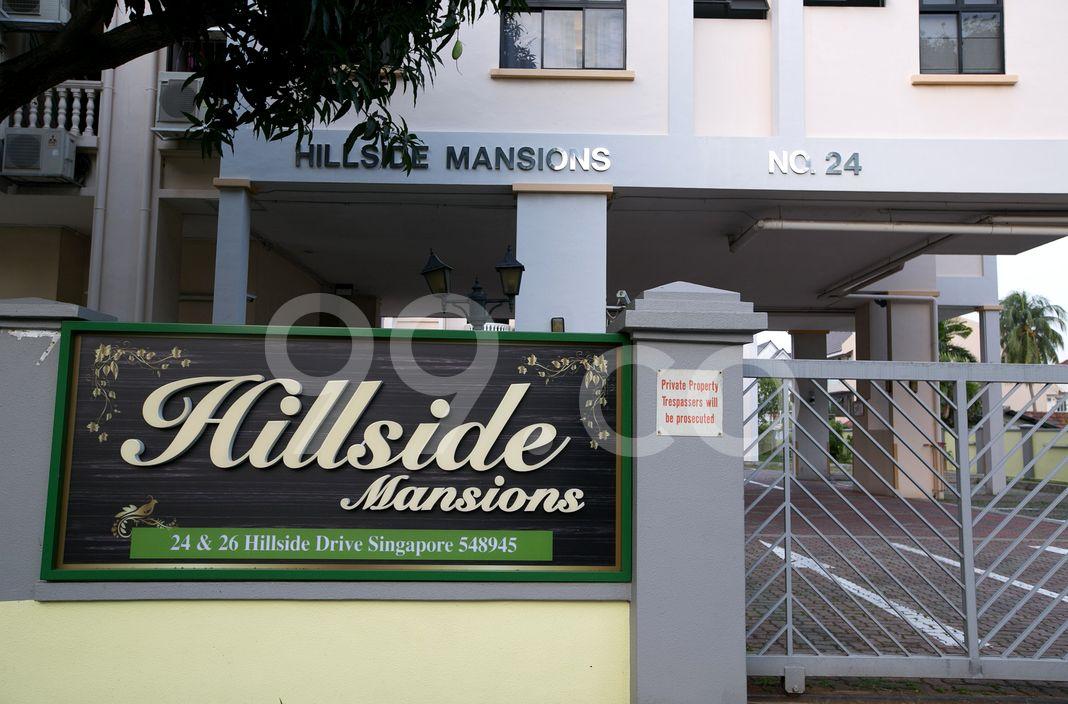 Hillside Mansions  Logo