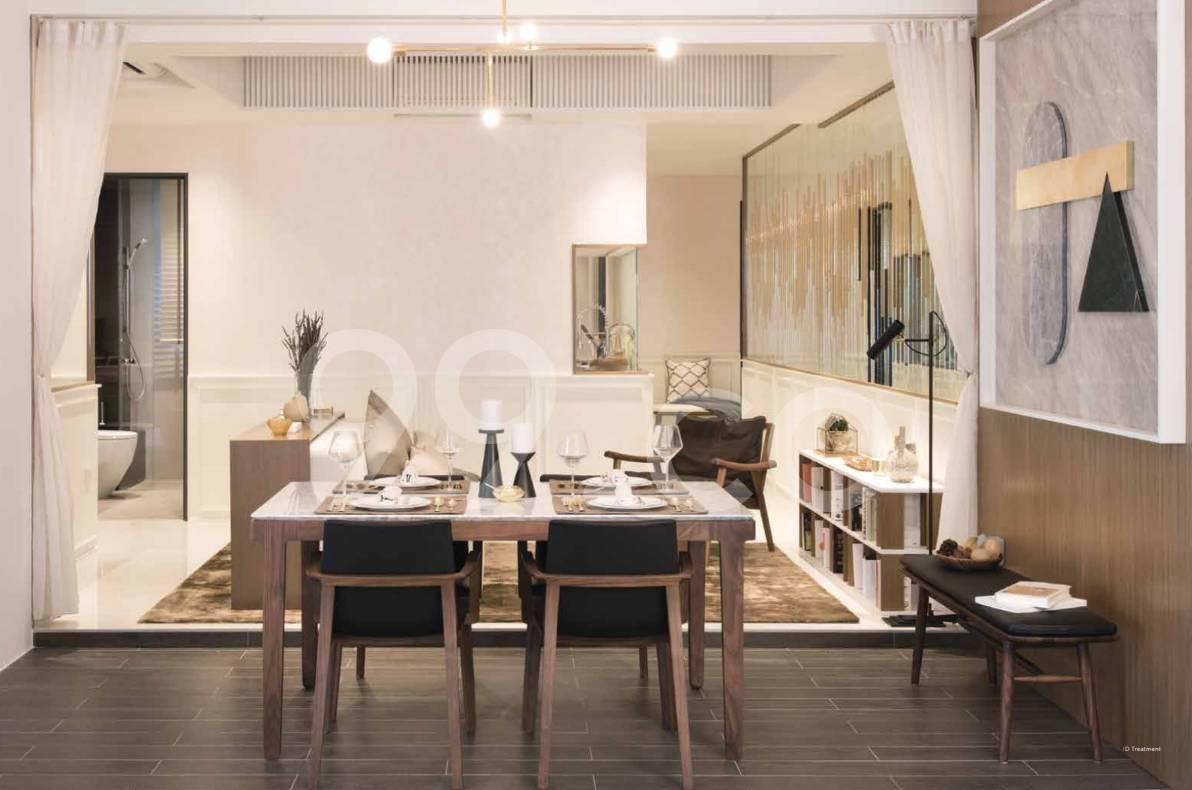 Gem Residences Dining Room