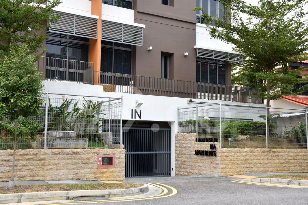 Ria Apartments  Entrance