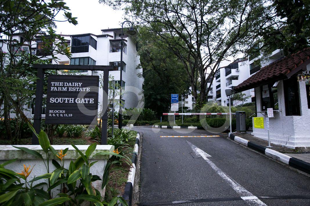 Dairy Farm Estate  Entrance