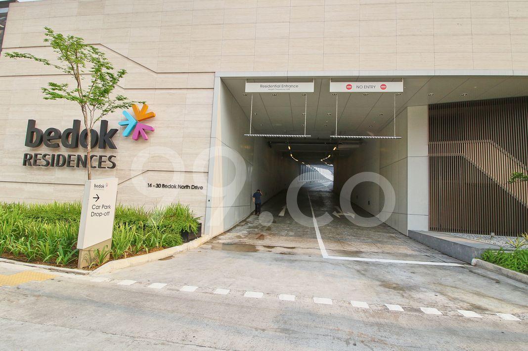 Bedok Residences  Entrance