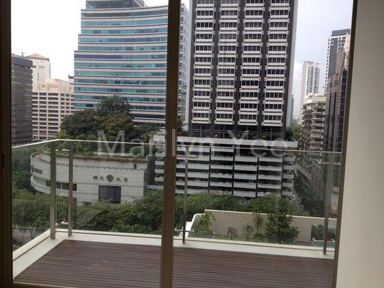 Bedroom 2 opens into balcony