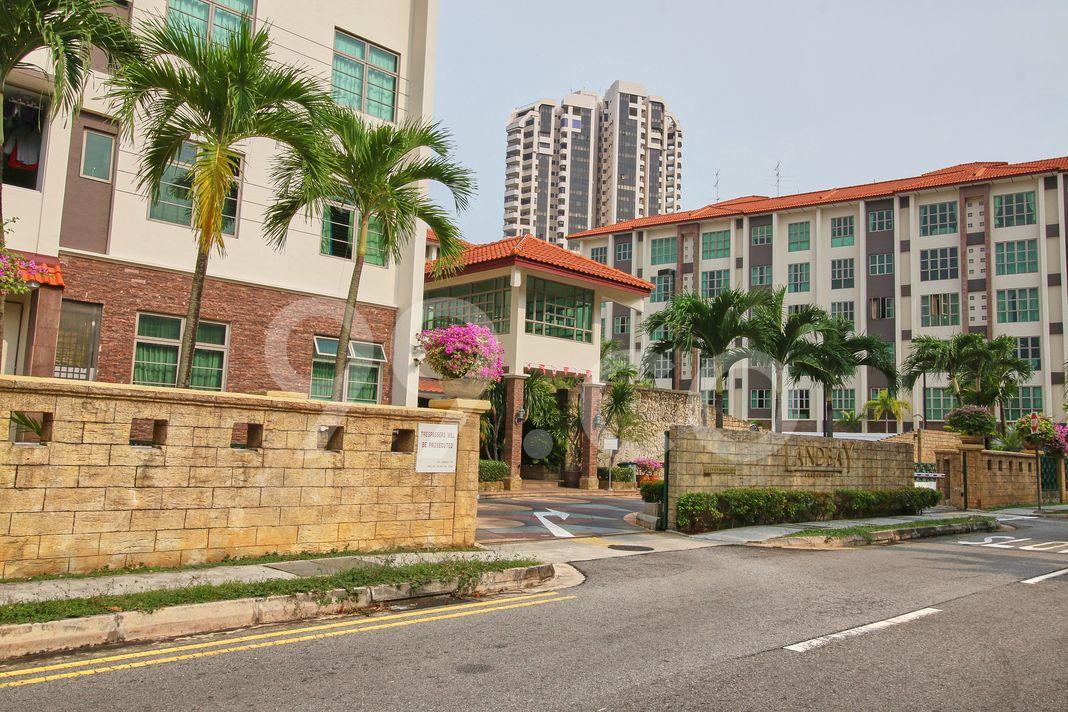 Landbay Condominium  Entrance