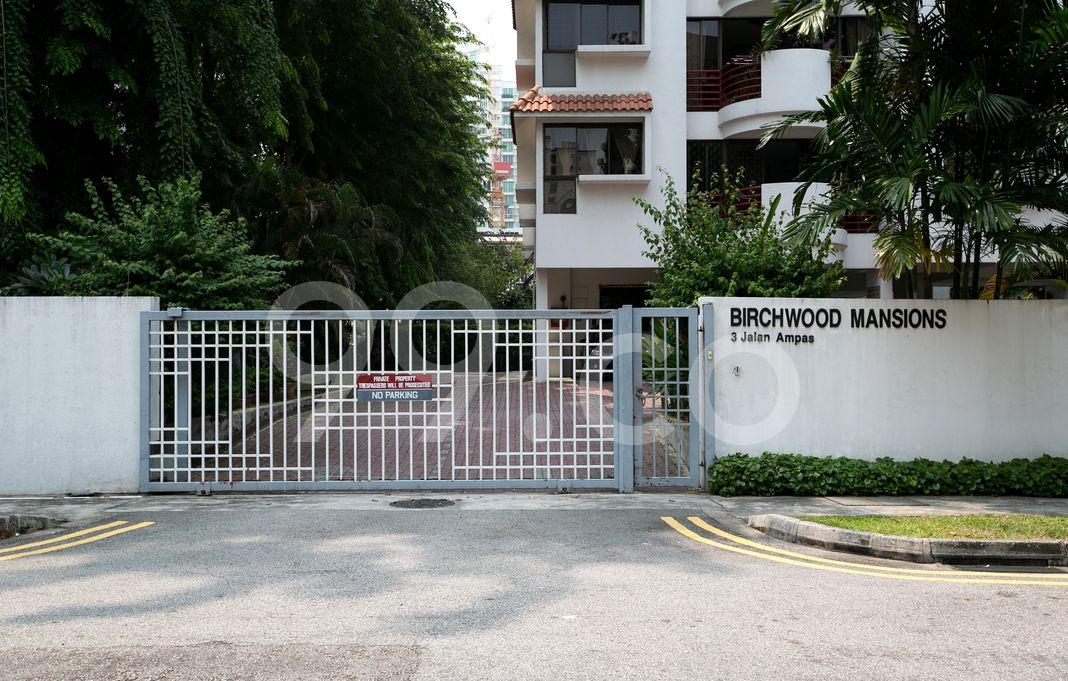 Birchwood Mansions  Entrance